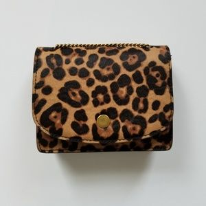 Madewell Leopard Haircalf Bag